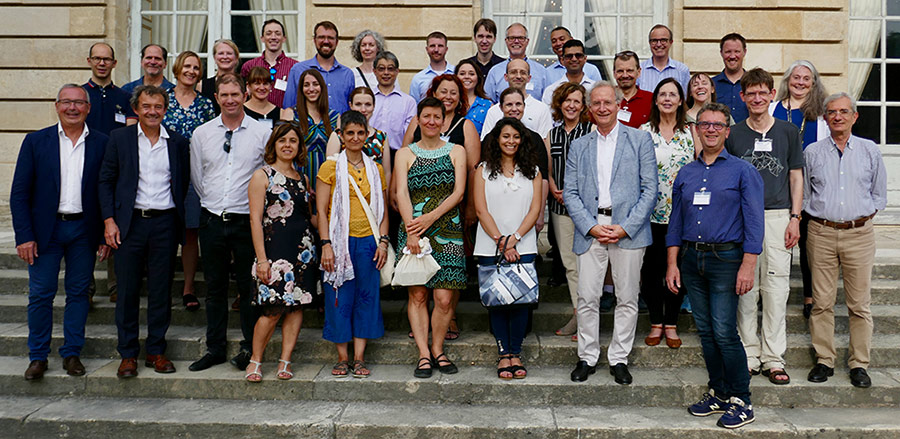 InterLymph members at their 2019 Annual Meeting in Bordeaux, France